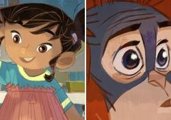 La storia dell'orango e della bambina è stata bollata come «troppo politica», ma sul web è diventata virale