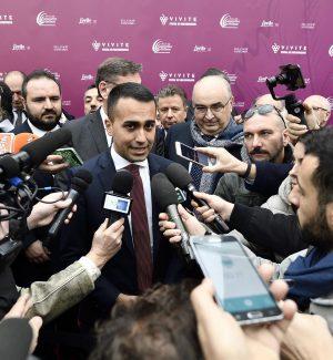 Il vicepremier e ministro del Lavoro Luigi Di Maio