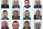 Mafia a Giarre, 17 arresti nel clan Laudani: nomi e foto