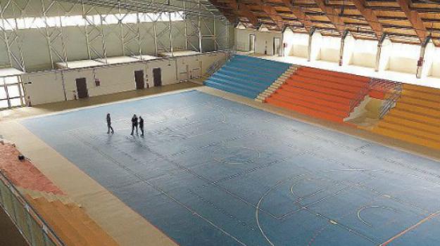 Apertura palasport Agrigento, Agrigento, Cronaca