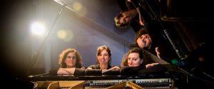 """Sei mani su un pianoforte con """"PianoTrio Artemisia"""", il concerto a Cefalù"""