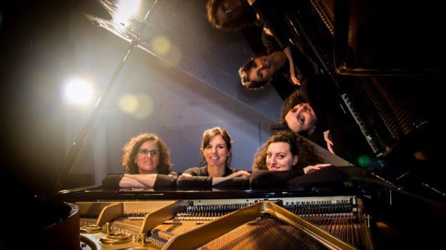Amici della Musica di Cefalù, Piano Trio Artemisia, Federica Grassullo, Irene Maria Salerno, Roberta Raro, Palermo, Cultura