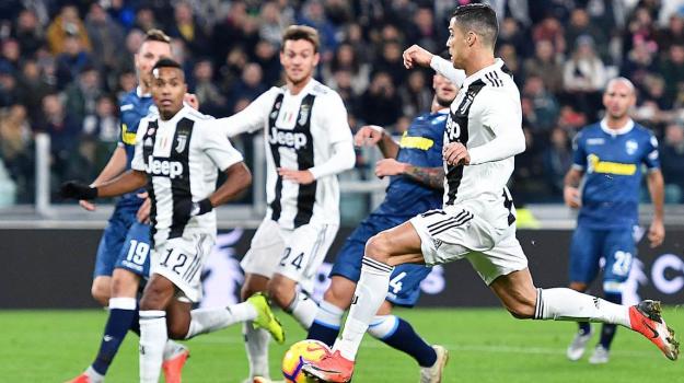 Juventus Spal serie A, Sicilia, Sport