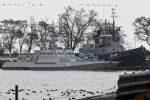 Le navi ucraine sequestrate dalla Russia