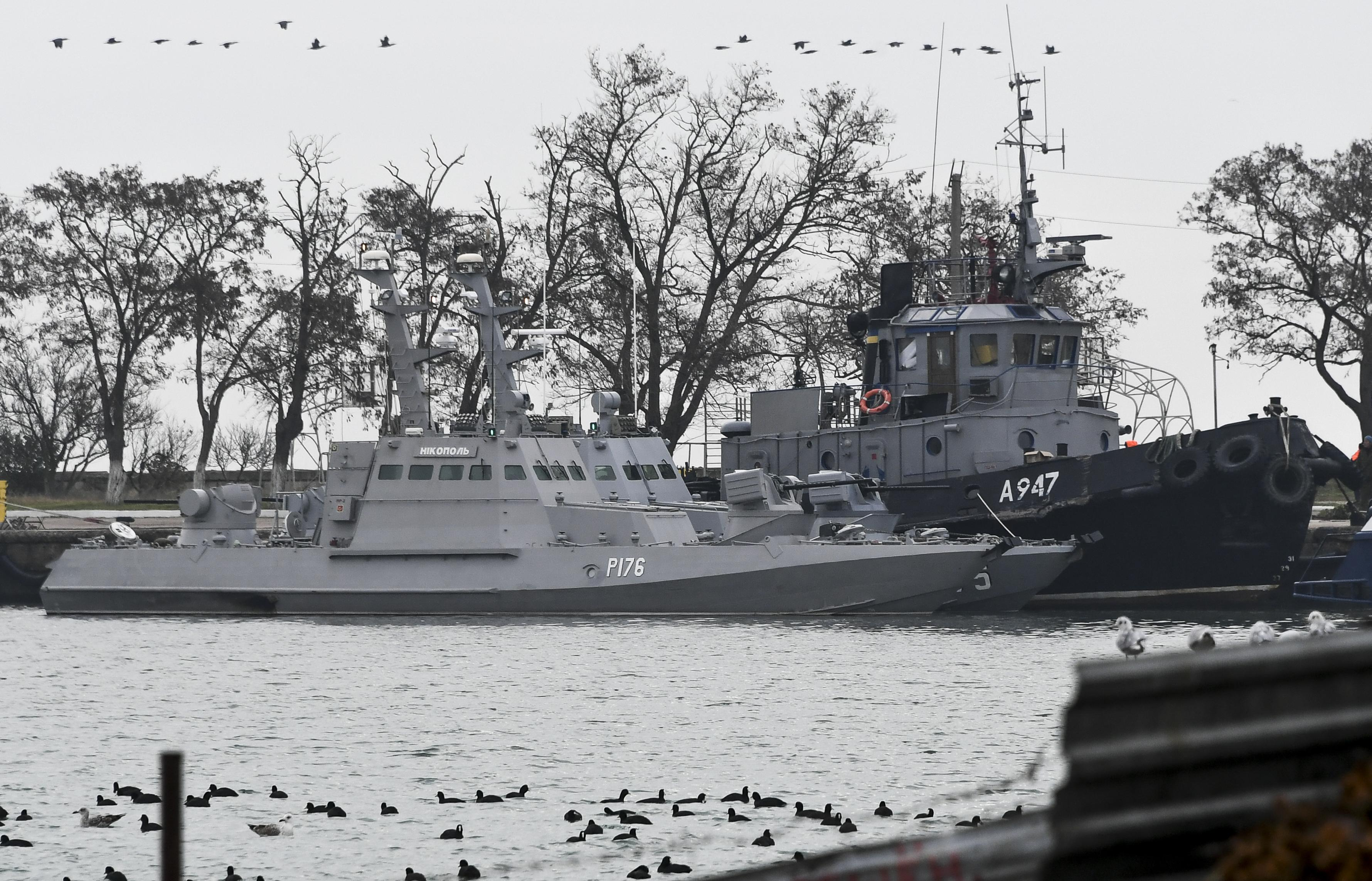 Lo scontro navale tra Russia e Ucraina nel Mare d'Azov