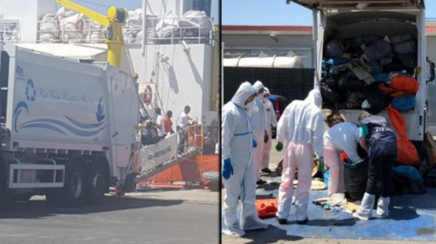procura di catania, rifiuti pericolosi, sequestrata nave aquarius, Catania, Cronaca
