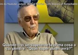 Il papà dei supereroi della Marvel raccontava così una delle sue creazioni più famose