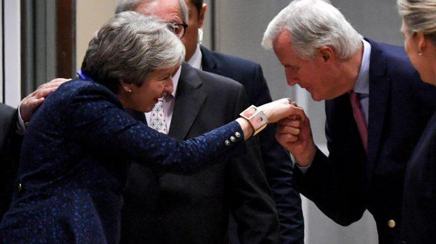 accordo brexit, Donald Tusk, Theresa May, Sicilia, Mondo