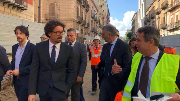 anello ferroviario, toninelli a palermo, trasporti, Danilo Toninelli, Palermo, Politica