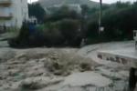 Maltempo in Sicilia: riprende la pioggia, salvate 3 persone, esonda un torrente a Sciacca