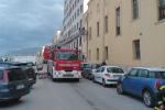 Alberi abbattuti e danni a un lido, i vigili del fuoco in azione a Trapani