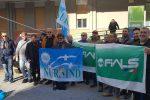 Pagamenti in ritardo e grave carenza di personale, il sit-in dei sindacati al Civico di Palermo