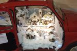 Il presepe in auto d'epoca a Bolognetta