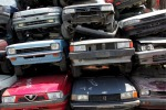 A pile of junked vehicles [ARCHIVE MATERIAL 20080612 ]