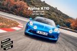 Alpine A110 vince titolo sportiva dell'anno per BBC TopGear