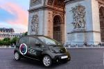 A Parigi disponibili da oggi 550 auto elettriche Free2Move