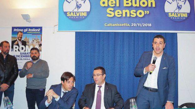 Candidato sindaco Lega, Oscar Aiello, Caltanissetta, Politica