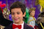 In tv i Pupi siciliani del palermitano Antonio: il piccolo ospite a Portobello, le foto