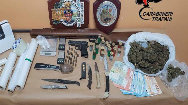 armi e droga a Castelvetrano, Trapani, Cronaca