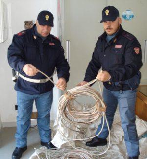 Rubati cento metri di cavi di rame dalla stazione ferroviaria di Enna