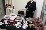 Nasconde oltre cinque chili di hashish, marijuana e cocaina a Melilli, arrestato