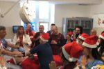 Festa di Natale all'ospedale dei Bambini a Palermo