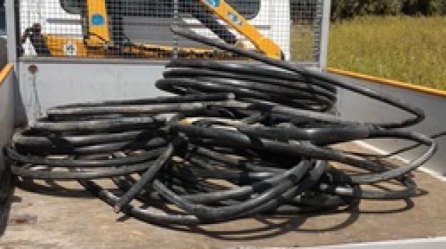 furto di cavi di rame, stazione ferroviaria motta santa Anastasia, Roberto Orazio Ciccia, Messina, Cronaca