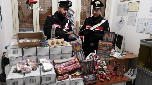 sequestro fuochi d'artificio Rosolini, Siracusa, Cronaca