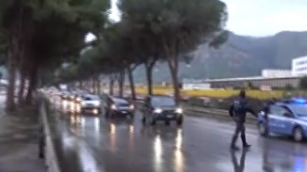 Maltempo a Palermo, incidenti in viale Regione Siciliana e via dell'Orsa Minore