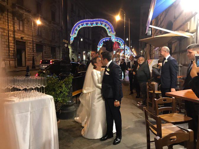 Matrimonio Natale Palermo : Natale giunta ha detto sì lo chef palermitano sposa a