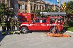 A 110 anni dal sisma che colpì Messina, allestita mostra di mezzi dei vigili del fuoco