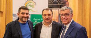 Marco Mocciaro, Vincenzo Chiofalo e Giuliano Marchesin