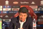 """Torino, Mazzarri dopo la sconfitta con la Juve: """"Meritavamo di più"""""""