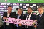 """Palermo, Zamparini """"si congeda"""" e accoglie i nuovi proprietari: le foto"""