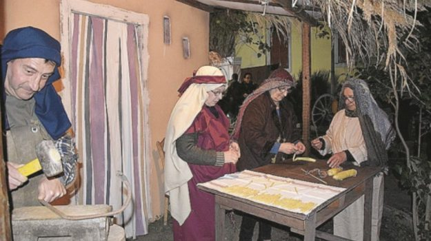 presepe vivente di patti, Messina, Cultura