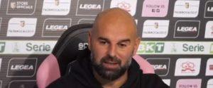 """Il ko del Lecce fa sperare il Palermo, Stellone: """"Battere il Verona a tutti i costi"""""""