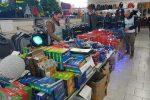 A Ragusa maxi sequestro di oltre 317 mila articoli natalizi e giocattoli non sicuri