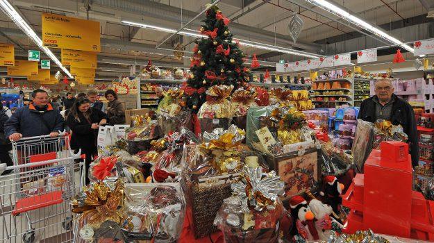 pranzo di natale, regali di natale, Sicilia, Economia