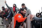 """Salvini partecipa alla festa della curva del Milan, """"Ci sono diversi indagati? Anche io lo sono"""""""