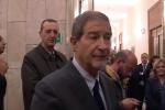 """Palazzo d'Orleans, il presidente Musumeci inaugura il presepe: """"Dovrebbe stare in tutti i luoghi"""""""
