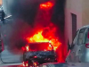 Auto a gas va in fiamme, paura a Castellammare