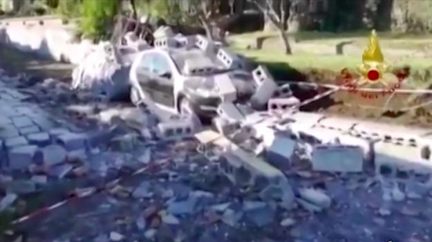 trecastagni sopralluogo terremoto, Catania, Cronaca