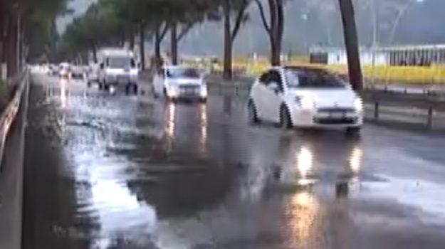 Maltempo a Palermo: allagamenti, incidenti e disagi in città
