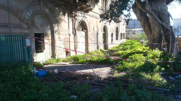 palermo sequestrato edificio abbandonato, Palermo, Cronaca
