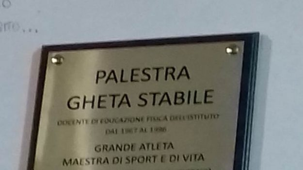 Palermo intitolata la palestra del liceo umberto i alla for Liceo umberto palermo