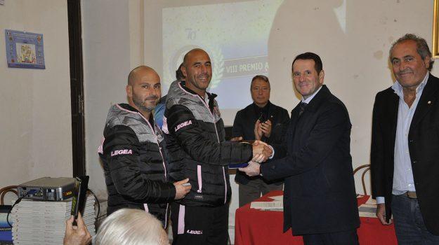 premiate giovanili Palermo, Premio Azzurri d'Italia, settore giovanile Palermo, Alvaro Biagini, Tanino Troja, Palermo, Sport