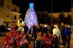 Inaugurato a Lampedusa l'albero di Natale ecologico