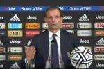 """Juventus, Allegri: """"Non siamo i killer del campionato"""""""