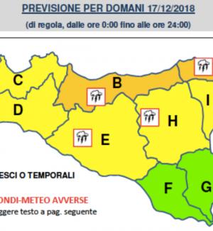 Meteo, violenti temporali in arrivo al Centro-Sud: allerta arancione a Palermo e in Sicilia settentrionale