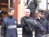 Gregorio Di Giovanni all'uscita dalla caserma dopo l'arresto nel blitz Cupola 2.0
